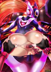 2girls anal anal_beads anal_fingering anal_insertion animated anus ass ass_grab bent_over big_ass bodysuit cameltoe color dat_ass dj dj_sona english_text exposed_anus exposed_ass female fingering from_behind gape gaping_anus gif gloves hair headgear helmet huge_ass jinx_(league_of_legends) league_of_legends long_hair looking_back multiple_females painted_nails purple_nails red_hair rip ripped shadman skin_tight slap sona spanking spread_anus sweat tear text tights torn_bodysuit torn_clothes yuri