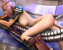 3dbabes ass big_breasts dick eclair_farron final_fantasy_xiii legs nipples oral pink_hair pussy