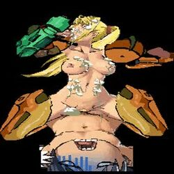 animated animated_gif disembodied_penis metroid nintendo samus_aran straight_shota video_games
