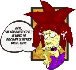 cum dahlshita gay sideshow_bob the_simpsons yaoi