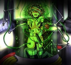 artist_request bondage bondage collar dildo female injection insertion komeiji_satori navel_insertion needle nipple_clamp nipples touhou tube vaginal_insertion
