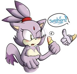anthro blaze_the_cat blush breasts cum cum_on_breasts cum_on_face cum_on_hair feline female fur mammal nude one_eye_closed penis purple_fur pussy sega senshion sex solo sonic_(series) sonic_the_hedgehog standing yellow_eyes