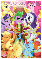 1boy 6girls alicorn anthro applejack_(mlp) blue_eyes breasts closed_eyes cutie_mark dragon equestria_girls equine fangs female fluttershy_(mlp) green-eyes happy harem horn human jewelry large_breasts lingerie long_hair looking_at_viewer male multicolored_hair multiple_girls my_little_pony open_mouth palcomix pegasus pillow pinkie_pie_(mlp) pony ponytail rainbow_dash_(mlp) rarity_(mlp) scalie smile spike_(mlp) tagme the_mane_six twilight_sparkle_(mlp) unicorn wings