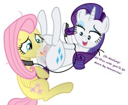 2014 cunnilingus cutie_mark equine eyelashes female fluttershy_(mlp) friendship_is_magic fur hair hi_res horn licking mammal multi-colored_hair my_little_pony oral oral_sex pegasus pussy pussy_juice rarity_(mlp) sex tongue uncensored unicorn vaginal_penetration wings yuri