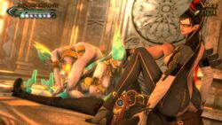animated ass bayonetta breasts face_sitting grinding joy luka source_filmmaker tdw the_doll_warehouse titjob