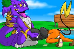 :d cock_vore cum dragon dragoneer dweet-tea furry furry_only horny invalid_tag nintendo no_humans penis pokemon raichu urethral urethral_penetration video_games vore