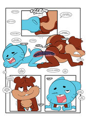 anal anal_insertion anal_sex animaniacs blue_fur brown_fur closed_eyes dildo double_dildo erection fur gay gumball_watterson insertion male mammal open_mouth penetration penis rodent sex_toy shaking skippy_squirrel squirrel teeth the_amazing_world_of_gumball