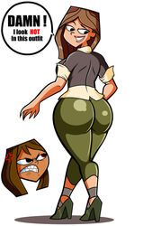 ass big_ass capri_pants courtney dat_ass huge_ass taylor the_ridonculous_race total_drama_island