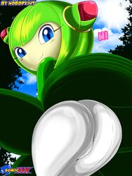 ass cosmo_the_seedrian female female_only nobody147 sega solo sonic_(series) tagme upskirt