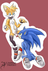 anthro anus arashidrgn ass balls blue_eyes canine cum duo fellatio fox green_eyes hedgehog male open_mouth oral oral_sex sega sex sonic_(series) sonic_the_hedgehog tails tails video_games