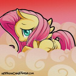 2014 anus ass equine female fluttershy_(mlp) friendship_is_magic hentagon horse mammal my_little_pony pegasus pony pussy solo wings