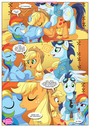 applejack_(mlp) comic friendship_is_magic my_little_pony penis pussy rainbowdash soarin_(mlp) wonderbolts_(mlp)