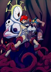 anal double_(skullgirls) interspecies monster rape skullgirls tentacle