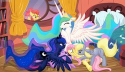 apple_bloom_(mlp) derpy_hooves female fluttershy_(mlp) friendship_is_magic group group_sex my_little_pony orgy princess_celestia_(mlp) princess_luna_(mlp) pussy sex twilight_sparkle_(mlp) yuri