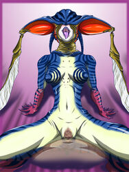 censored female kamen_rider monster_girl nude tagme