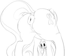 2014 anus ass cutie_mark dotkwa equine female feral fluttershy_(mlp) friendship_is_magic mammal my_little_pony pegasus presenting presenting_hindquarters pussy solo wings