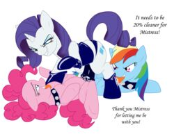 2014 alpha_channel darthglacier dildo domination earth_pony english_text equine female female_domination friendship_is_magic horn horse licking mammal my_little_pony pegasus penetration pinkie_pie_(mlp) pony rainbow_dash_(mlp) rarity_(mlp) sex_toy strapon text tongue unicorn wings
