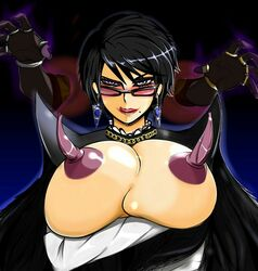 bayonetta bayonetta_(character) bayonetta_2 breasts large_breasts short_hair