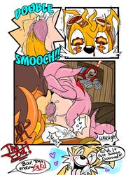 amy_rose greenhill kissing oral sonic_(series) sticks tails