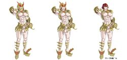 abs amigo_terahashi areola armor big_balls big_breasts big_penis boots character_sheet cod_piece dickgirl female flaccid futa_solo futanari gigantic_penis helmet high_heel high_heels huge_penis huge_testicles large_breasts large_penis large_testicles light_skin model_sheet muscle_tone muscles muscular_female nipples painted_nails pale_skin pauldrons penis penis_grab pointing pose red_hair rule_63 saint_seiya scorpio_milo semi-erect shemale shoulder_guards simple_background skimpy small_areola smile solo standing testicles unconvincing_armor white_background