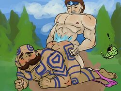 bara braum caterpie gay league_of_legends pokemon taric tattoo yaoi
