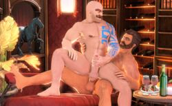 3d animated braum gay graves league_of_legends stature tagme yaoi