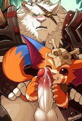 furry_only gay gnar league_of_legends rengar tagme