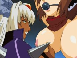 angel_c animated animated bouncing_breasts breasts cleavage female