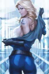 artgerm fantastic_four female female_only human marvel solo sue_storm tagme