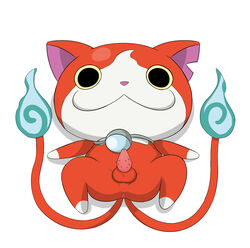 cat_penis fahren jibanyan male male_only nekomata penis yo-kai_watch