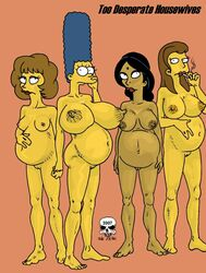 manjula_nahasapeemapetilon marge_simpson maude_flanders pregnant ruth_powers the_fear the_simpsons