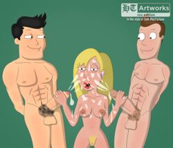 american_dad breasts connie_d'amico family_guy ht_artworks oliver_wilkerson tagme the_cleveland_show vince_chung