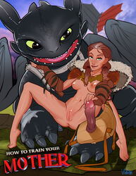 dragon female how_to_train_your_dragon sex toothless valka vintem