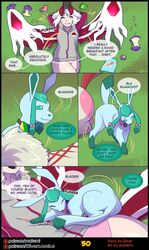 <3_marking 1boy 1girl 2018 :3 absol alternate_color animal_humanoid artemis_the_absol bell bioluminescence blue_fur blue_hair blue_sclera bow chips clothed clothed_feral clothing comic eeveelution english_text female feral food forest fruit fur furry girly glaceon glacey glowing hair handbag heart hi_res hoodie horn humanoid interspecies legendary_pokémon male mammal markings matemi mature_female mother motion_lines nintendo original_character panties parent pink_fur plant pokémon_(species) pokemon pokemon_dppt pokemon_rse rainbow_clothing red_scales scales scarf shadow shiny_pokémon silver_soul testicles text tree underwear video_games white_eyes white_fur white_hair white_scales wings yveltal