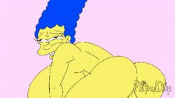 animated ass bart_simpson big_ass big_breasts big_penis breasts female human incest male marge_simpson maxtlat milf penis sex straight the_simpsons