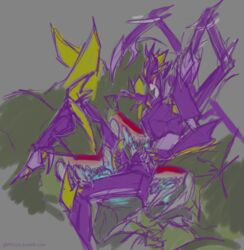 airachnid arachnid arthropod erection fangs female foursome group group_sex humanoid humanoid_penis insecticon machine male multi_limb oral penis robot sex size_difference smile source_request spider straight teeth transformers transformers_prime unknown_artist