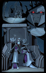 chair comic cum cum_inside dialogue duo english_text erection glowing glowing_eyes handjob hi_res humanoid machine male megatron muscular night night_sky open_mouth penetration penis robot sex shamba999 simple_background sitting size_difference spread_legs spreading star starscream teeth text throne tongue tongue_out transformers transformers_prime yaoi