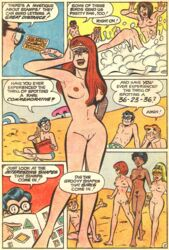 archie_andrews archie_comics beach karlkline pussy shaved_pussy