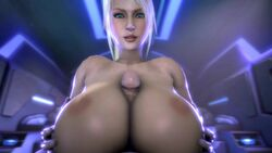 1boy 1girl 3d animated areolae beauty_mark big_penis blonde_hair breast_grab erection female huge_breasts human long_hair looking_at_viewer male metroid moaning nintendo nipples noname55 nude open_mouth paizuri penis ponytail pov samus_aran sarah_bryant smile sound straight tied_hair veins veiny_penis webm