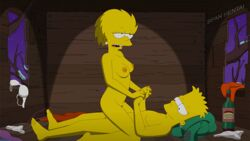 animated bart_simpson brother_and_sister incest lisa_simpson sex sfan the_simpsons