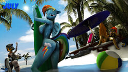 3d anthro anthrofied big_breasts breasts daring_do_(mlp) digital_media_(artwork) equine female friendship_is_magic hooves-art mammal my_little_pony pussy rainbow_dash_(mlp) zecora_(mlp)