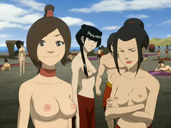 avatar_the_last_airbender azula edit mai_(avatar) mckraken ty_lee