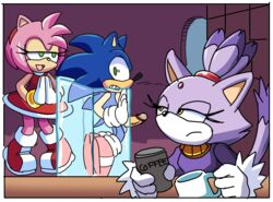 2016 amy_rose anthro balls blaze_the_cat comic coolblue erection feline feline female group hedgehog male mammal penis sonic_(series) sonic_the_hedgehog