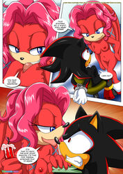 anthro ass bbmbbf bondage breasts comic domination female female_domination lien-da male mobius_unleashed nipples nude oral palcomix penis pussy sex shadow_the_hedgehog sonic_(series) straight