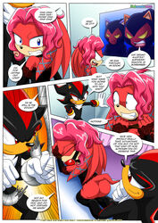 anthro ass ball_gag bbmbbf bondage bound breasts domination female female_domination forced gag gagged imminent_rape lien-da male male_domination mobius_unleashed oral palcomix penis sex shadow_the_hedgehog slave sonic_(series) straight uhoh