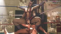 3d animated bouncing_breasts boxing_ring breasts clothed clothed_female_nude_male duo faceless_male female female_on_top fugtrup highres horns human indoors interspecies large_breasts male mohawk mortal_kombat multiple_arms no_sound nude penis reverse_cowgirl_position riding sex sheeva shokan source_filmmaker straight toned vaginal_penetration webm