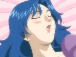 4girls animated blonde blue_hair bottomless breasts brown_hair dialog immoral_sisters large_breasts moaning music nude pussy pussy_juice sound strap-on tagme topless webm yuri