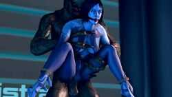 animated ball_gag blue_skin bondage bound cortana gag gagged halo_(series) male no_sound penetration restrained sangheili sex source_filmmaker spread_legs tied webm wrists_to_ankles