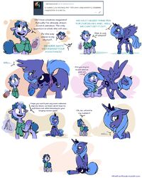 ... 2016 ? alicorn animated anus ass blue_hair blush comic crown cutie_mark dialogue dock duo english_text equine fan_character female feral fisting friendship_is_magic hair horn male mammal my_little_pony princess_luna_(mlp) pussy raised_tail rear_view sitting spread_wings text tumblr unicorn vaginal_fisting vaginal_penetration whateverbender wings