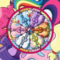 animal_genitalia animal_penis anus applejack_(mlp) ass balls cutie_mark earth_pony equine erection fluttershy_(mlp) friendship_is_magic horse male mammal my_little_pony penis pinkie_pie_(mlp) pony rainbow_dash_(mlp) rarity_(mlp) squirrelpony twilight_sparkle_(mlp)
